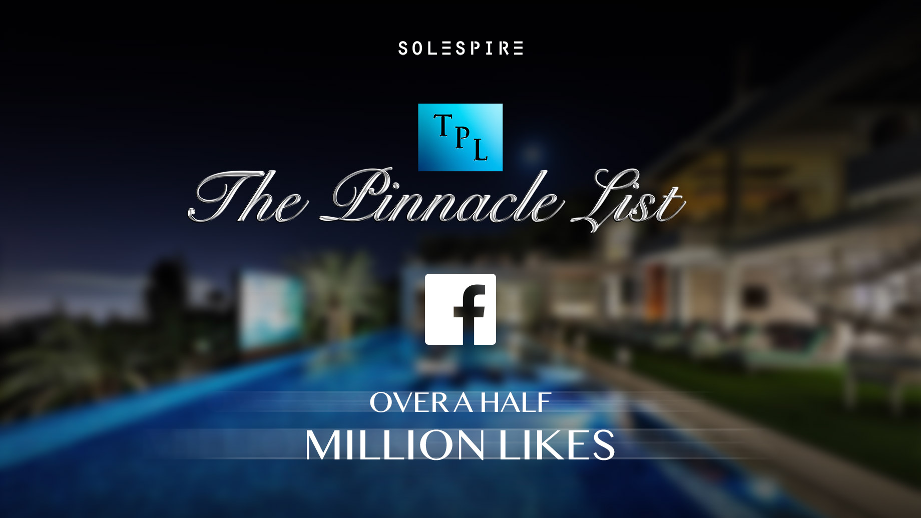 The Pinnacle List Achieves Over a Half Million Facebook Page Likes