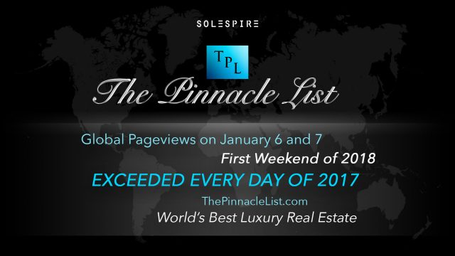 The First Weekend of 2018 Exceeds Daily Global Pageviews of 2017 on The Pinnacle List